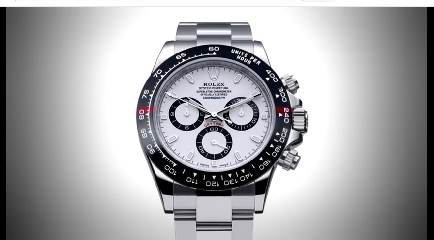 Youtube Screen Shot Rolex Dayton